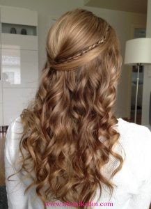 Özel Günler İçin Saç Modelleri 3