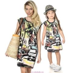 Anne-Kız-Aynı-Kıyafet-Plaj-Kombini-1-320x240