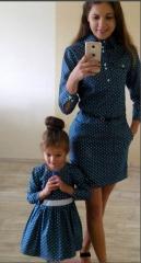 Anne-Kız-Pamuk-Elbise-Aynı-Takım-Mavi-Kombin-3-549x1024-320x240
