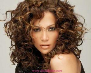 Kıvırcık Saç Modelleri 16