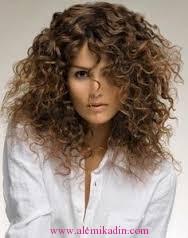 Kıvırcık Saç Modelleri 4