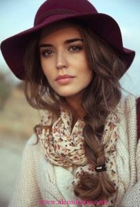 Romantik Saç Modelleri 11