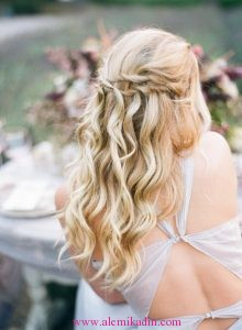 Romantik Saç Modelleri 4