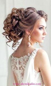 Romantik Saç Modelleri 9