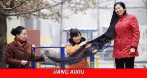 Dünyanın En Uzun Saçı Jiang Aixiu