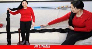 Dünyanın En Uzun Saçı Ni Linmei