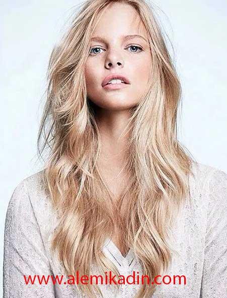 Katmanlı Uzun Saç Modelleri